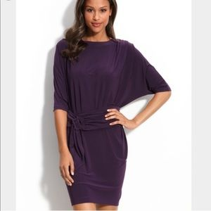 Badgley Mischka Mark And James Dolman Purple Dress